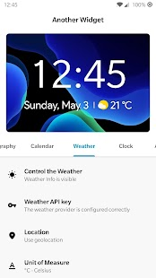 Another Widget Screenshot