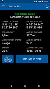 Anchor Watch Pro / Alarm 2