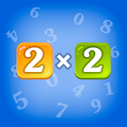 Multiplication table for children. Training.