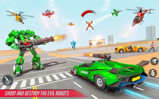 Army Bus Robot Car Game u2013 Transforming robot games 5.1 Screenshots 2