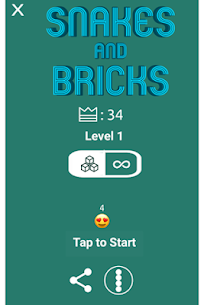 Snakes And Bricks 1.4 (MOD + APK) Download 3