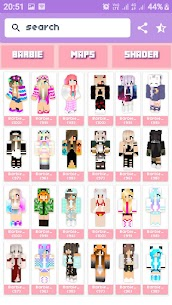 Free Barbie Skin amp  Maps House For MINECRAFT PE Apk Download 2021 2