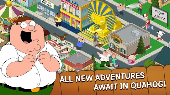 Family Guy: The Quest for Stuff MOD APK (Free Shopping) 1