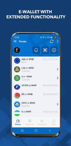 WebMoney Keeper Pro  screenshots 1