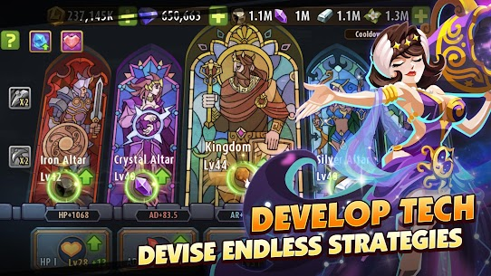 Magic Rush Heroes Mod APK Unlimited Diamond Money 1.1.309 4
