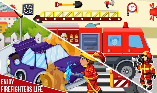 Pretend Play My Firestation Town  : Rescue Fireman 1.1.11 screenshots 14