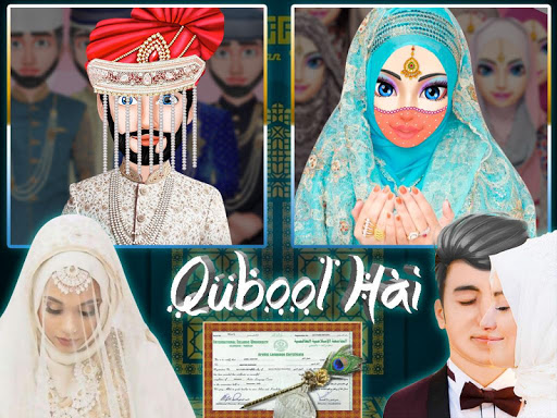 Hijab Muslim Wedding Girl Big Arranged Marriage  Screenshots 1