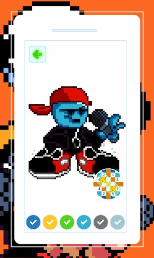 Boyfriend Friday Night Funkin Game Pixel  screenshots 6