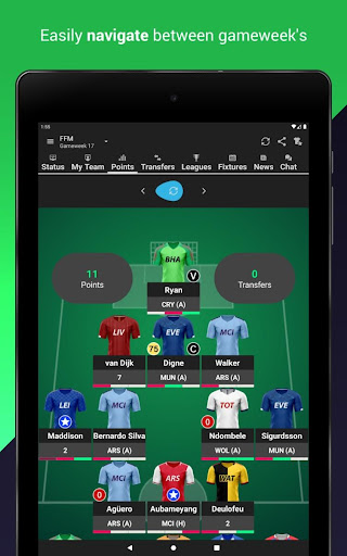(FPL) Fantasy Football Manager for Premier League android2mod screenshots 13