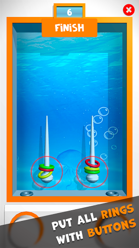 Water Ring: Stack Color Rings Game 3.6.1 screenshots 1