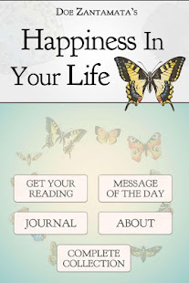 Happiness In Your Life Oracle