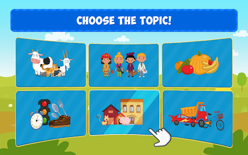 The Blue Tractor: Fun Learning Games for Toddlers 1.2.0 Screenshots 11