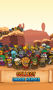 Five Heroes MOD APK: The King's War (Unlimited Money) 9