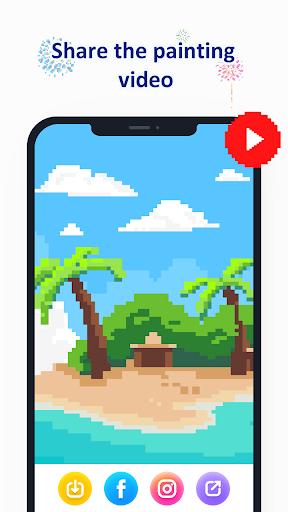 No.Pix - Color by Number, Pixel Art Coloring Book apktram screenshots 5