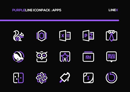 PurpleLine Icon Pack APK [PAID] Download for Android 3