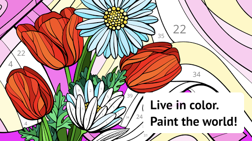 Art Therapy: Paint by Number Color Game 2.4.0 screenshots 14
