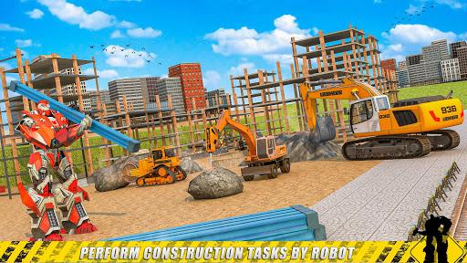 construction & demolish robot: robot games screenshot 2