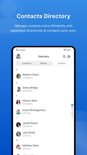 Yeastar Linkus Mobile Client apktram screenshots 3