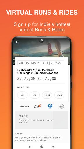 Steps & fitness tracking screenshot 1