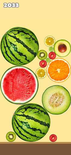 Fruit Merge Mania - Watermelon Merging Game 2021 apkdebit screenshots 6