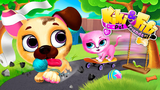 Kiki & Fifi Pet Friends - Virtual Cat & Dog Care 5.0.30021 Screenshots 19