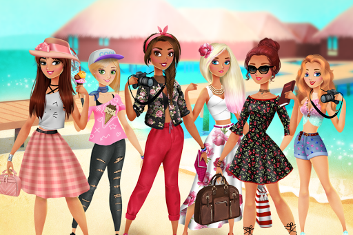❤ Vacation Summer Dress Up ❤ apkmartins screenshots 1