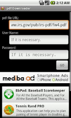 PDF Downloaderのおすすめ画像1