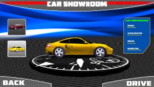 3d sports car parking game screenshot 2