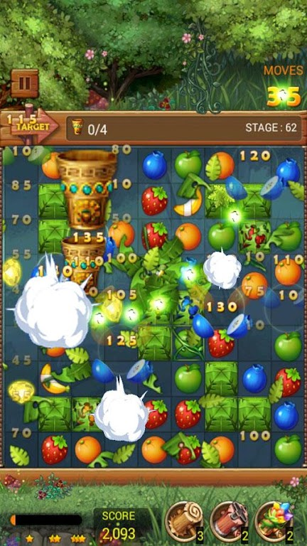 Fruits Forest : Rainbow Apple poster 13