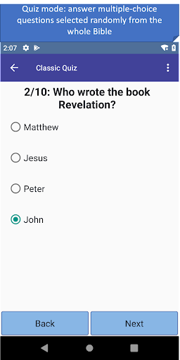 Bible Journey Trivia Game 1.27 screenshots 5