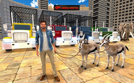 Télécharger Gratuit Animal Hospital Transporter Truck Driver Simulator apk mod screenshots 3