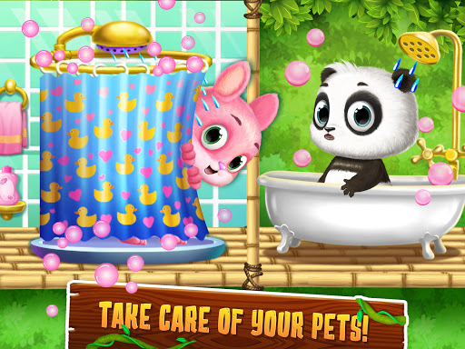 Panda Lu Treehouse - Build & Play with Tiny Pets  Screenshots 9