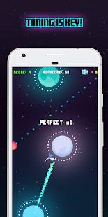 Planet Jump - Spaceship Arcade Game