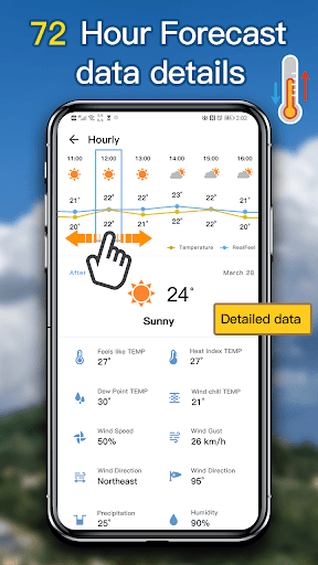 Weather Forecast - local weather app 2.2 Screenshots 2
