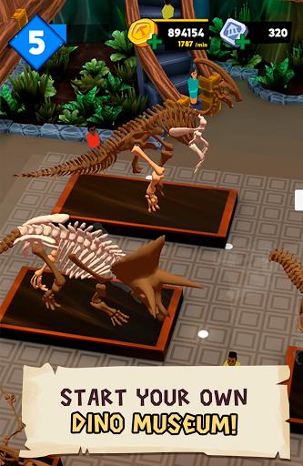 Dino Quest 2: Jurassic bones in 3D Dinosaur World apkpoly screenshots 9