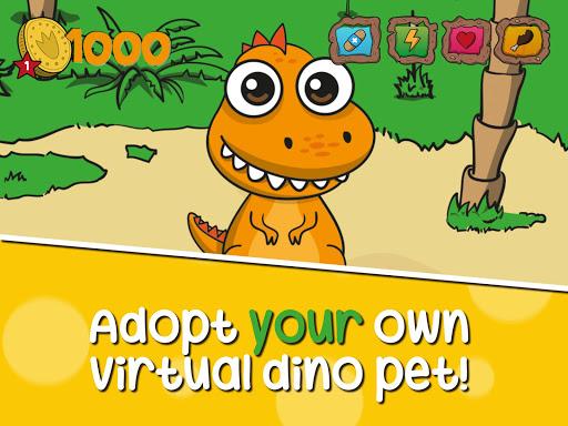 Virtual Pet: Dinosaur life apkdebit screenshots 7