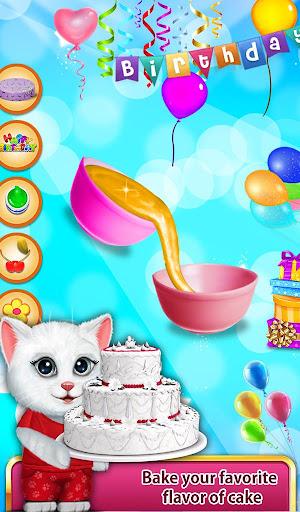 kitty birthday party celebration screenshot 2