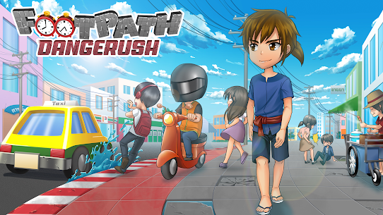 Footpath Dangerush Hack Online [Android & iOS] 1