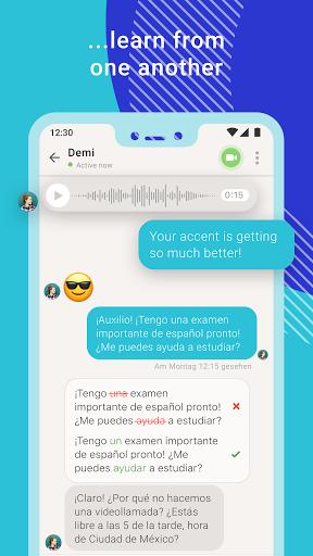 Tandem Language Exchange: Speak & learn languages 2.4.2 Screenshots 5