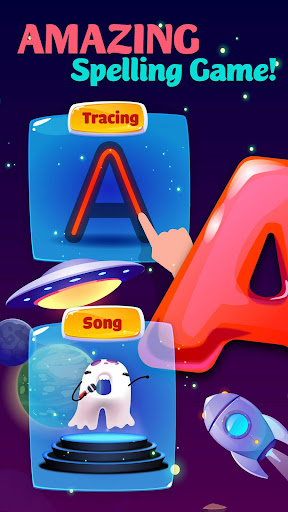 ABC Kids Games for Toddlers - alphabet & phonics screenshots 1