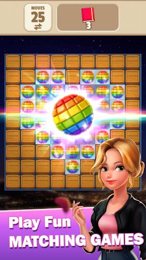 Code Triche Rachel's Diary - Match 3 Romance Puzzle Games (Astuce) APK MOD screenshots 3