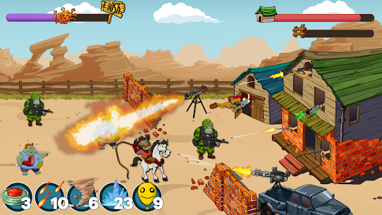 Zombies Ranch MOD APK (Unlimited Ammo/Money) 4
