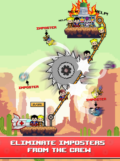 Rope Pixel Master - Rescue Hero Academy 0.14 screenshots 10
