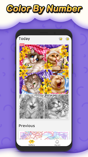 Jigsaw Coloring: Number Coloring Art Puzzle Game screenshots 6