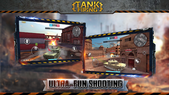 Tank Firing Screenshot