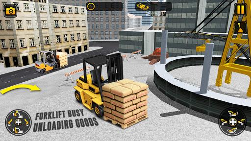 City Construction Simulator: Forklift Truck Game  screenshots 16
