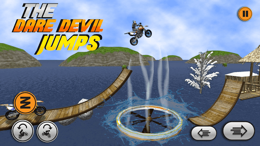 Xtreme trail: 3D Racing - Offline Dirt Bike Stunts android2mod screenshots 2