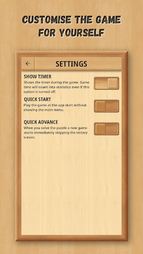 Sliding Puzzle: Wooden Classics  screenshots 15