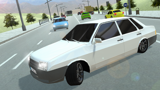 Russian Cars: 99 and 9 in City screenshots 3
