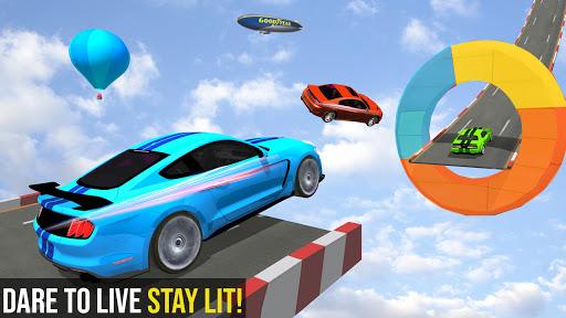 Mega Ramp Car Racing Stunts 3d Stunt Driving Games android2mod screenshots 1